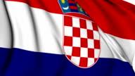 Flag of Croatia video