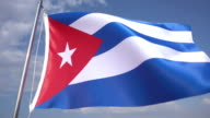 Flag of Cuba video
