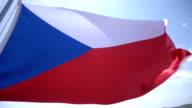 Flag of Czech Republic video