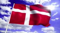 flag of Denmark video