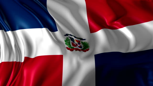 Flag of Dominican Republic video