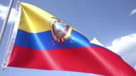 Flag of Ecuador video