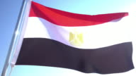 Flag of Egypt video
