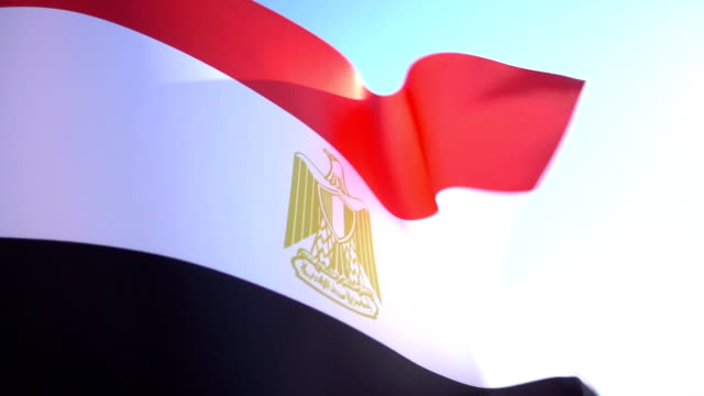 Flag of Egypt video