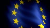Flag of European Community (seamless) video