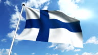 flag of Finland video