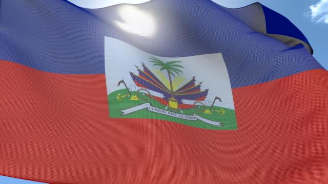 Flag of Haiti video