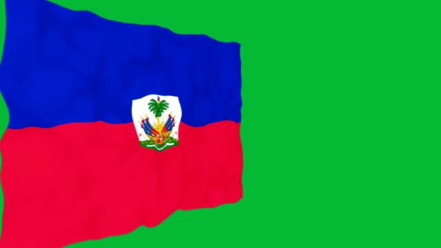 Flag of Haiti. video