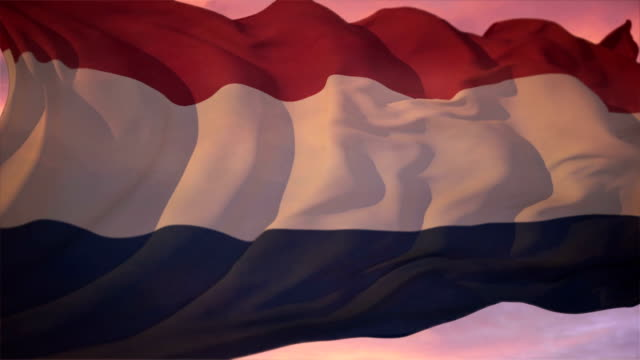 Flag of Holland video