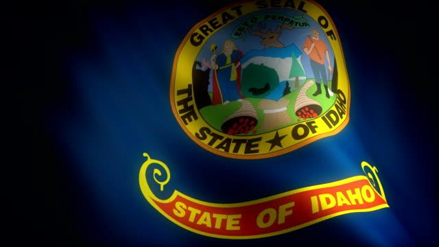 Flag of Idaho video