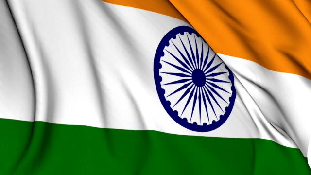 Flag of India video