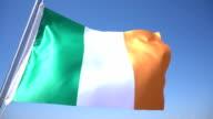 Flag of Ireland video