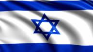 flag of Israel (loop) video