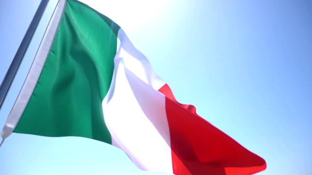 Flag Of Italy video