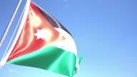 Flag of Jordan video