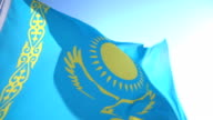 Flag of Kazakhstan video