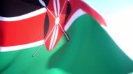 Flag of Kenya video