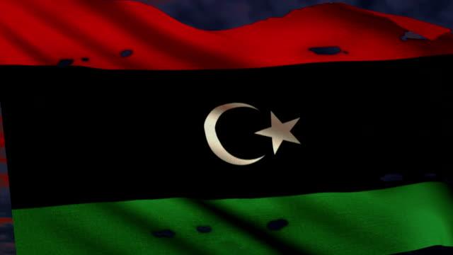 Flag of Libya, struggle for freedom video