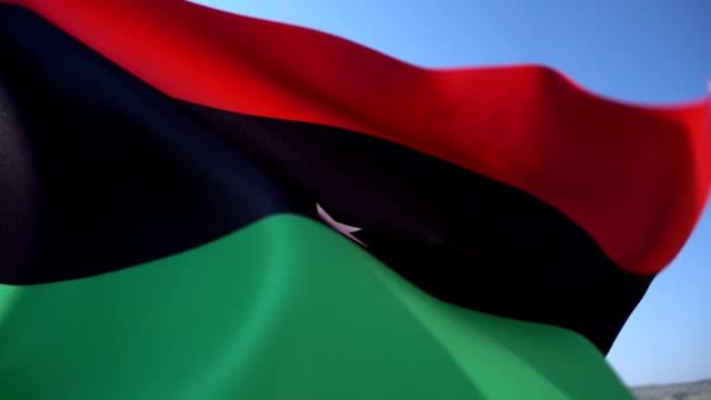 Flag of Libya video
