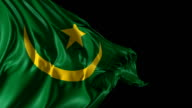 Flag of Mauritania video