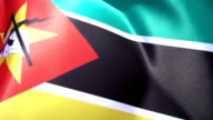 Flag of Mozambique video