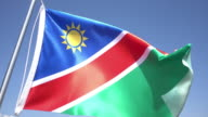 Flag of Nambia video