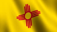 Flag of New Mexico video