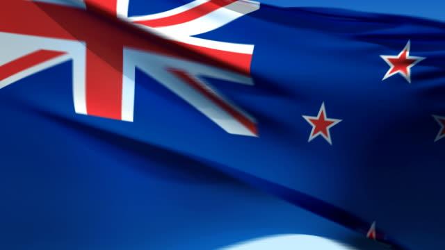 Flag of New Zealand (HD 1080i60) video