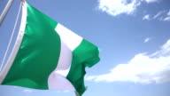Flag of Nigeria video