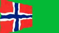 Flag of Norway video