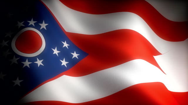 Flag of Ohio video