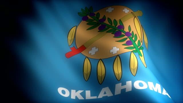 Flag of Oklahoma video