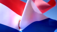 Flag of Paraguay video