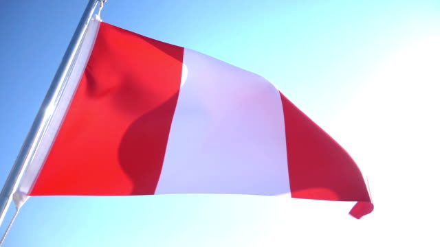 Flag of Peru video