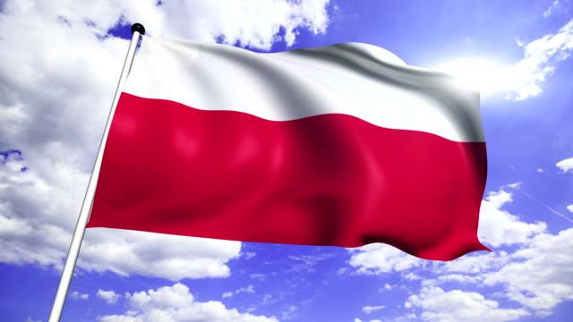 flag of Poland video