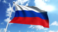 flag of Russia video