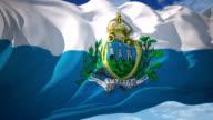 Flag of San Marino video