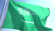 Flag of Saudi Arabia video