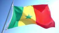 Flag of Senegal video