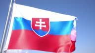 Flag of Slovakia video
