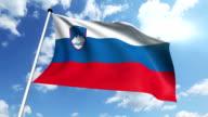 flag of Slovenia video