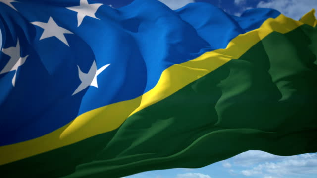 Flag of Solomon Islands video