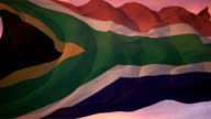 Flag of South Africa video