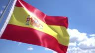 Flag of Spain video