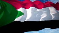 Flag of Sudan video