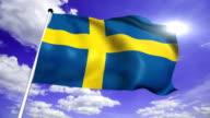 flag of Sweden video