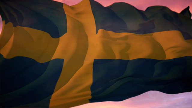 Flag of Sweden video