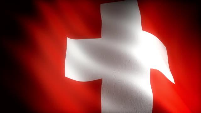 Flag of Switzerland video