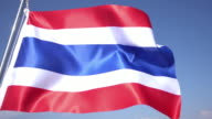 Flag of Thailand video