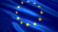 Flag of the Europe video